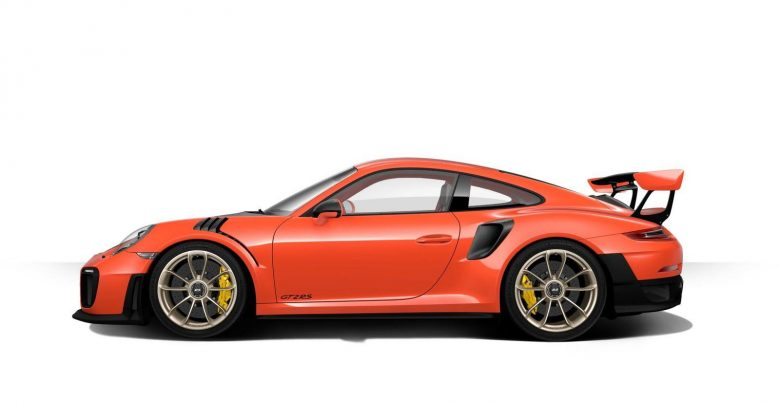 911 GT2 RS جدید، تصویر رندر شده