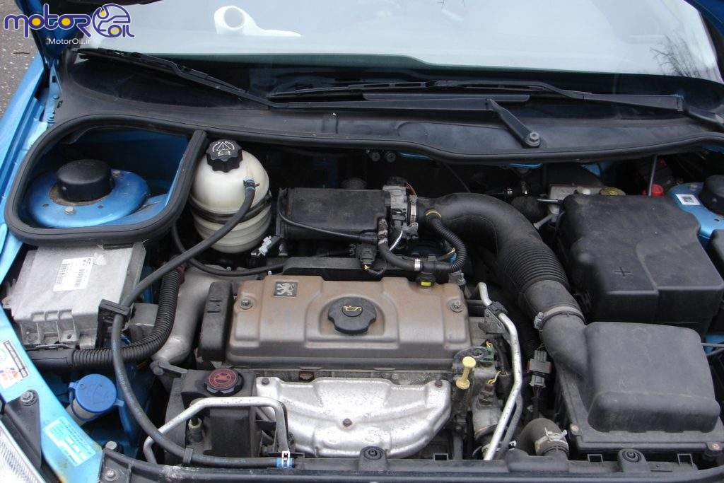 موتور TU3 پژو 206