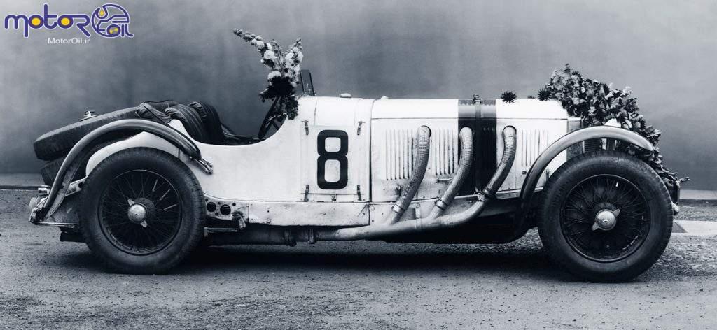 مرسدس بنز SSK برنده شده در مسابقات اتومبیلرانی