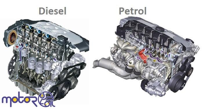 موتور دیزلی و بنزینی