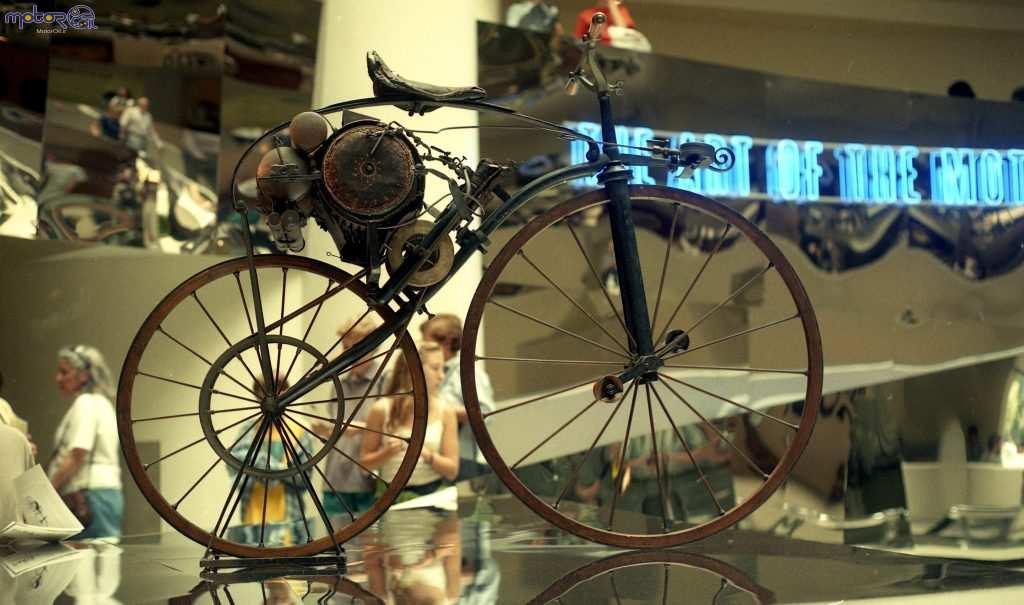 دوچرخههای حرکتکننده با بخار