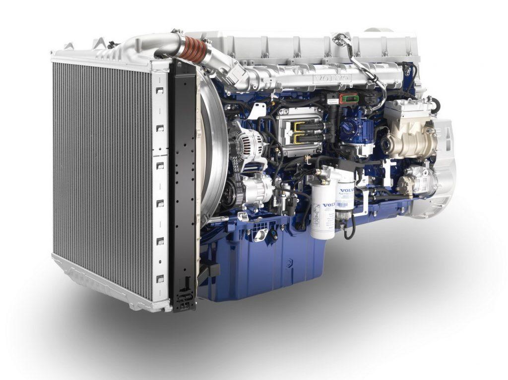 موتور ولوو D16