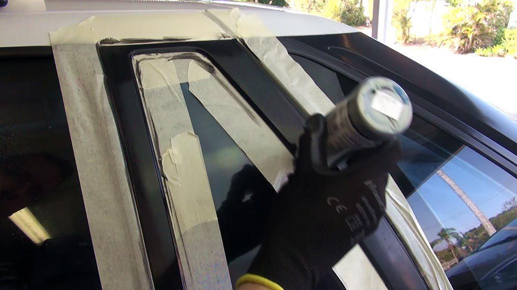 حفظ رنگ خودرو