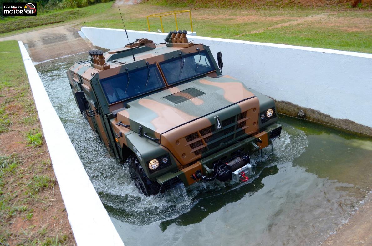 خودروی نظامی Tupi