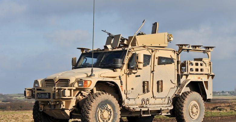 خودروی نظامی و تاکتیکی MXT