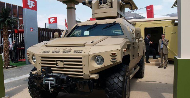 خودروی نظامی Nimr