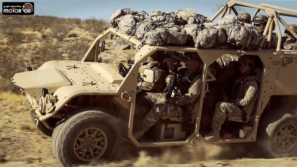 خودروی نظامی Flyer