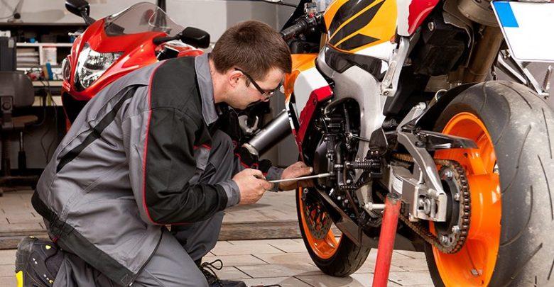 سرویس و نگهداری موتورسیکلتهای داخلی