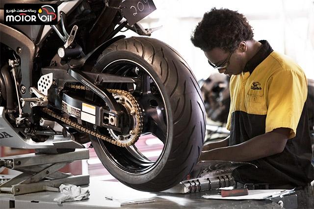 سرویس و نگهداری موتورسیکلت