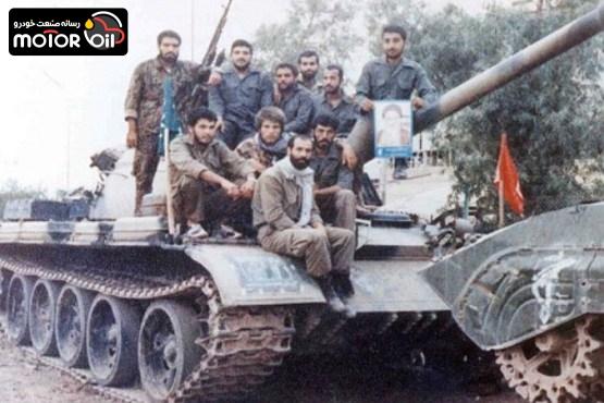 تانک های ایران و عراق در 8 سال جنگ تحمیلی