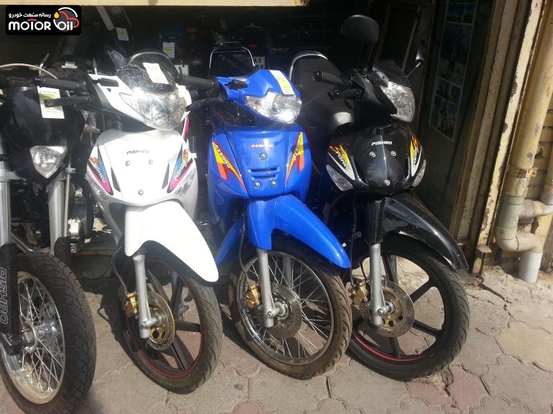 موتور سیکلت در بازار ایران
