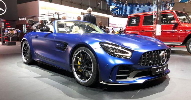 مرسدس بنز GTR مدل 2020