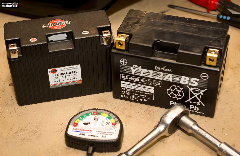 دشارژ شدن (خالی شدن) باتری خودرو