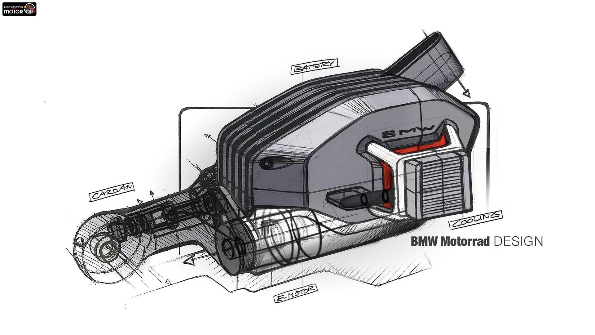 موتور سيكلت برقي بي ام و ویژن دیسی رودستر