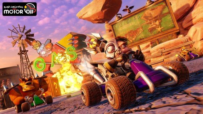 بازي Crash Team Racing Nitro Fueled