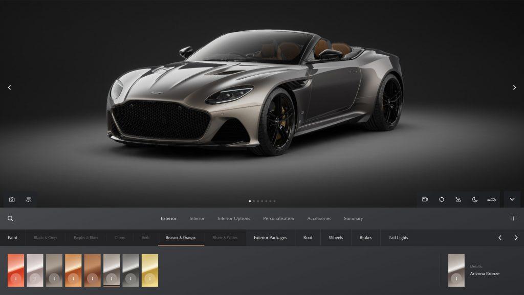 وب سایت روغن موتور، رسانه صنعت خودرو، استون مارتین